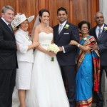Wedding of Gillian & Rajesh in Millstreet on 14/10/2011