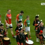 2011-10-30 Millstreet Pipe Band at the Kerry Football Final 02