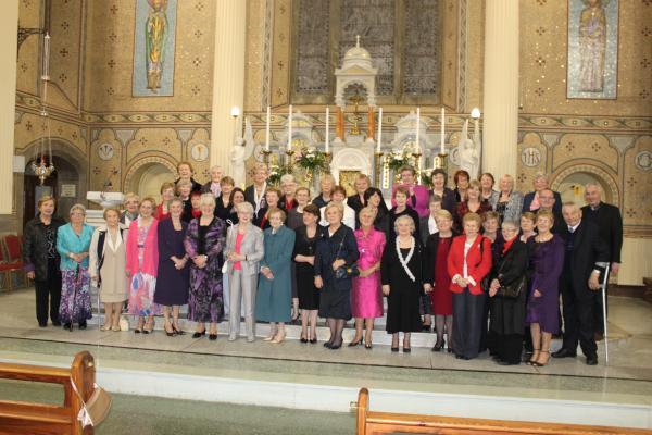Bridge Club at Millstreet Church on 50th Anniversary - 13/10/2011