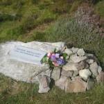 Paddy Mulcahy Tribute Stone on Mushera
