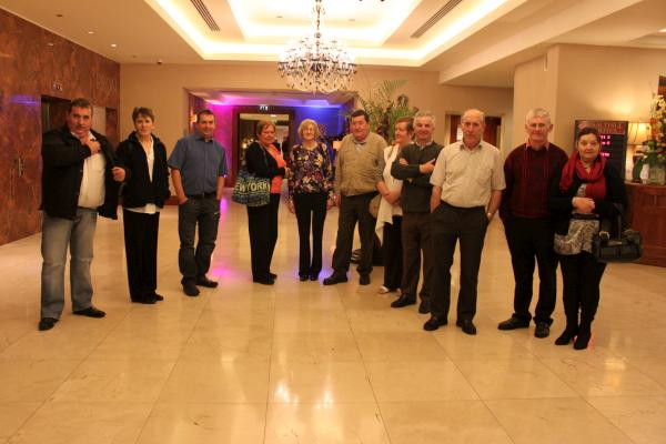 Millstreet Group & Friends at Salthill Hotel, Galway on 7th Nov. 2011