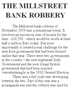 A bank robbery essay
