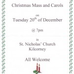 2011-12-20 Kilcorney NS Christmas Mass and Carols