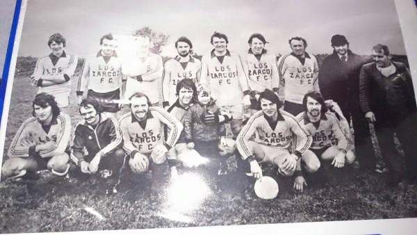 1980 Los Zarcos team photo