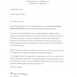 2010-11 Brother Vincents letter from the president