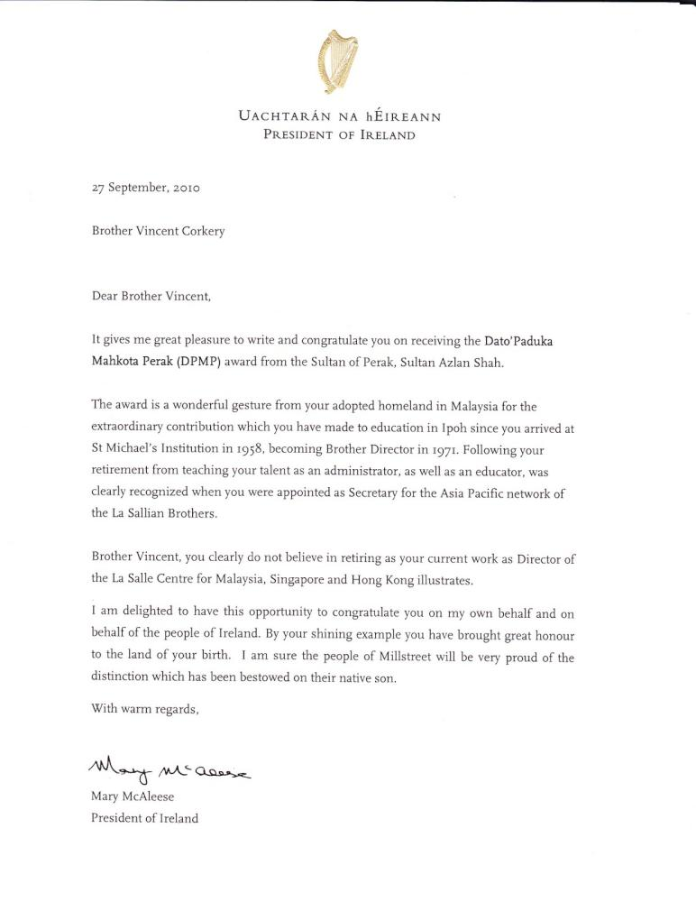 br corkerys letter from the president