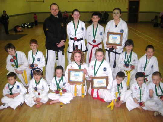 2012-02 Millstreet TaeKwonDo Club - medals from the Munster Championships