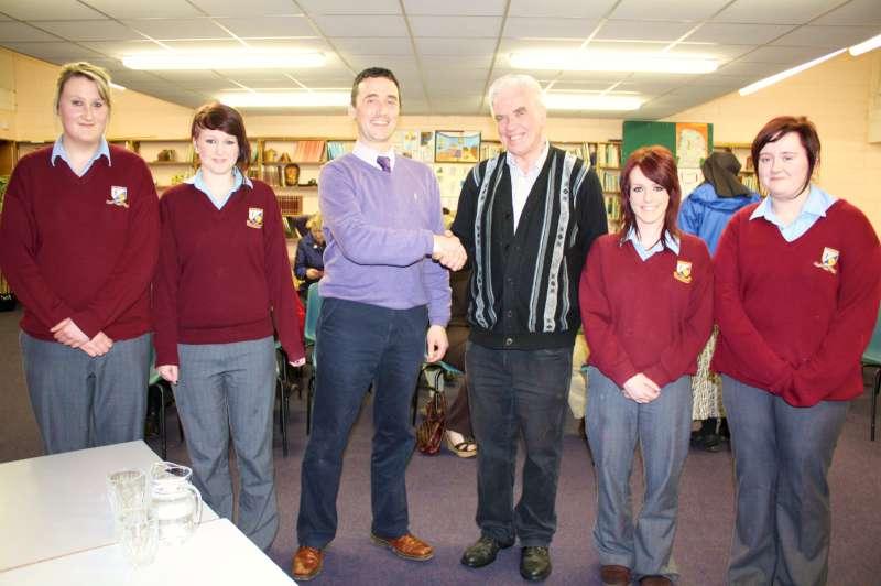 Fr. Peter McVerry visits Millstreet on 27th Feb. 2012