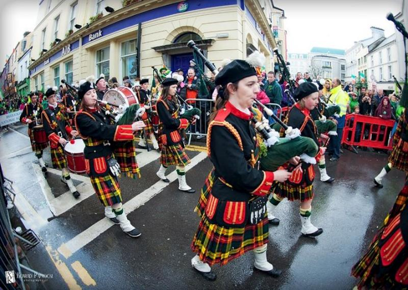 ... Pipe Band at Killarney St.Patricks Day Parade - photo by kpaprocki.com