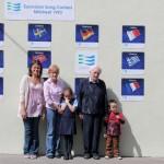 13Eurovision Wall Minor Row 2012