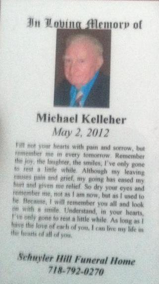 2012-05 Michael Kelleher - mass card