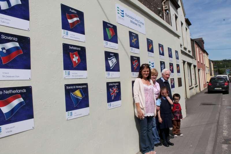 6Eurovision Wall Minor Row 2012
