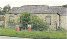 2012-05-28 The original building of the former Cloghoula N.S., Millstreet, as it appears in 2012. Credit Photo Seán Radley