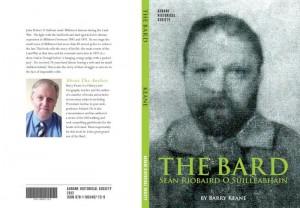 2012-06-21 Aubane Historical Society - The Bard, Seán Riobaird O Súilleabháin - book cover