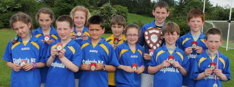 Football Final Winners 2012 - Cloghoula N.S.