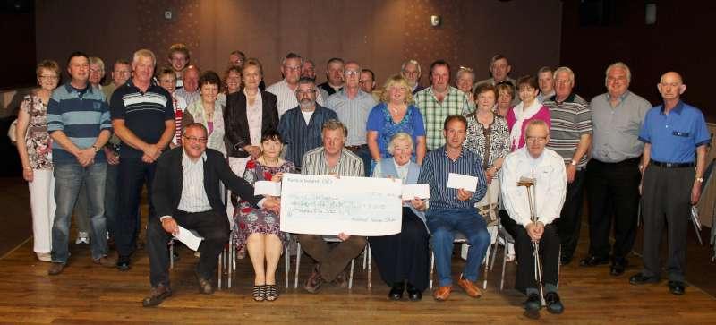 Vintage Cheque 2012 Presentation at Wallis Arms