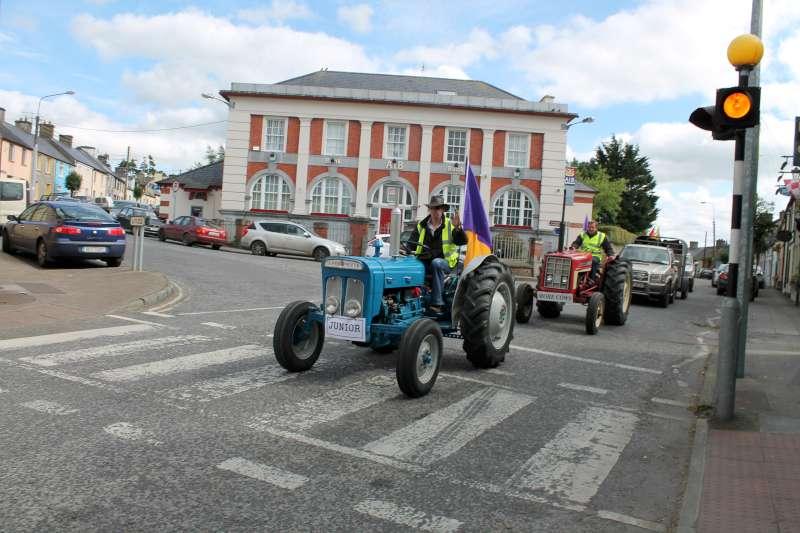 66Mizen to Malin Tractor Run 2012