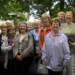Some of the enthusiastic members of the Over 50s Active Retired Association on their most enjoyable trip to Limerick and Bunratty Folk Park and Castle on Wednesday, 1st August 2012.  These excellent pictures have been kindly made available to us by Mary O&#039;Mahony, Minor Row (Secretary of the Association).  S.R.