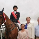 Millstreet International Show Sunday 12 Aug. 2012 with Anna, Louise, Maura and Thomas.