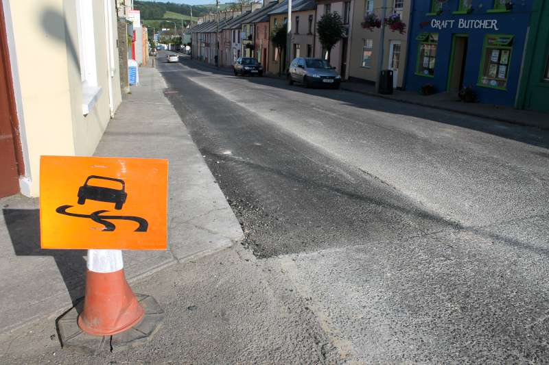 Completed roadworks at Minor Row 08/09/2012