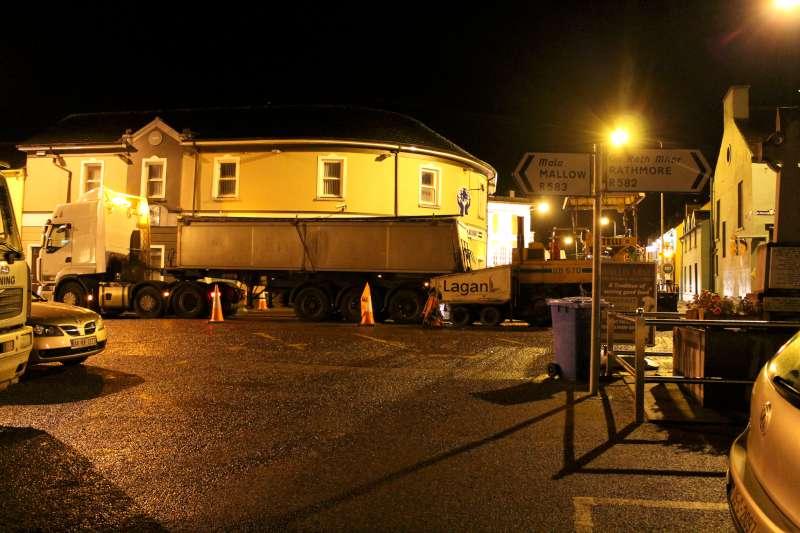 22Roadworks 2012 in progress in Millstreet
