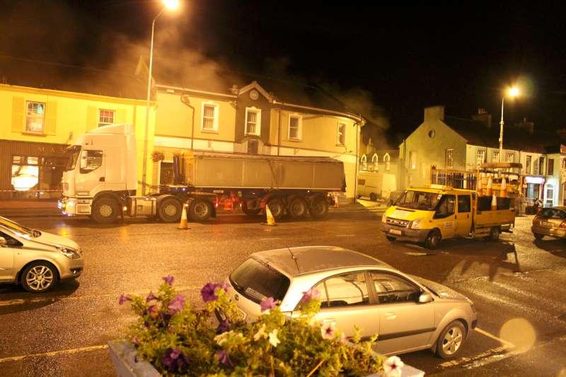 34Roadworks 2012 in progress in Millstreet