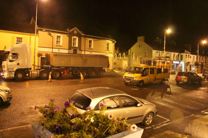 36Roadworks 2012 in progress in Millstreet