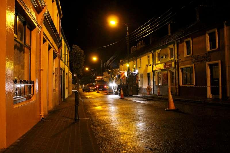 46Roadworks 2012 in progress in Millstreet