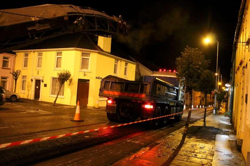 76Roadworks 2012 in progress in Millstreet