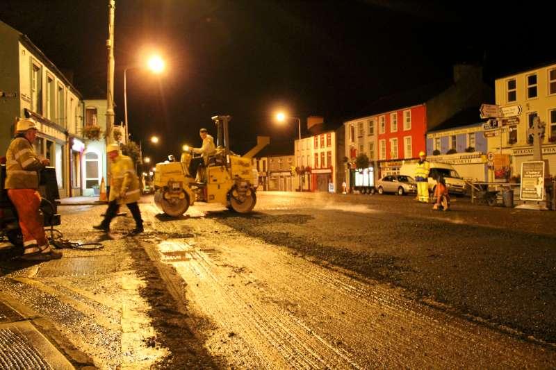 81Roadworks 2012 in progress in Millstreet
