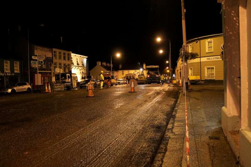 96Roadworks 2012 in progress in Millstreet