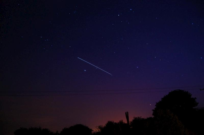 2011-04-28 The International Space Station over Millstreet