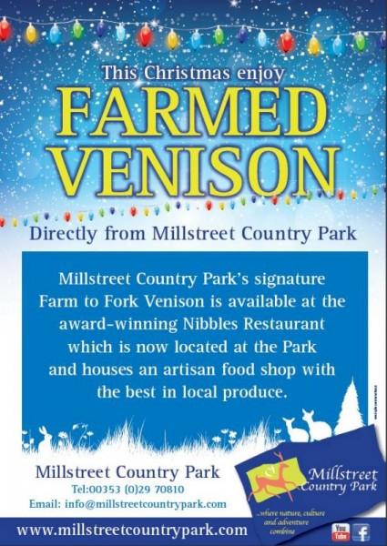 2012-12-13 Millstreet Country Park Venison - poster