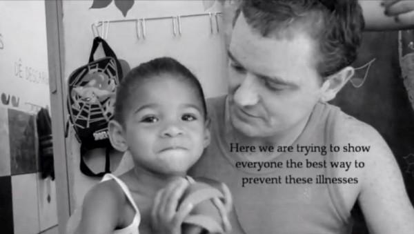 2012-12-17 Conor Hartnett in Fight For A Favela - IASESPE community in Rio De Janeiro