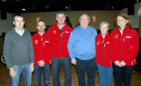 Derry Casey, Tony McCaul, Anthony Barry, Frank Casey, Joan Casey and Lilly Murphy