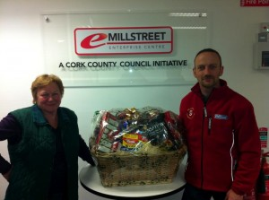 2012-12 Millstreet Development Group Draw 2nd place -  Kathleen Deery winner of the super value hamper and Tony McCaul