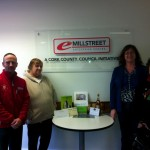 2012-12 Millstreet Development Group Draw 3rd place - Tony McCaul, Helen Lynch Winner of Multi business hamper and Noreen Twomey