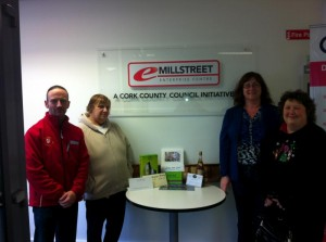 2012-12 Millstreet Development Group Draw 3rd place - Tony McCaul, Helen Lynch Winner of Multi business hamper and Noreen Twomey
