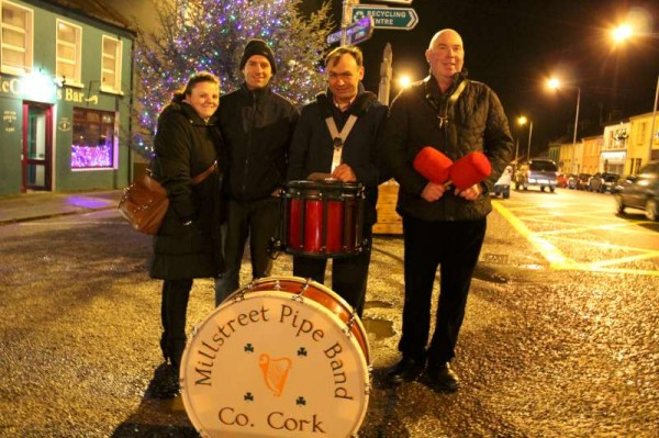 28Millstreet Pipe Band Welcomes 2013
