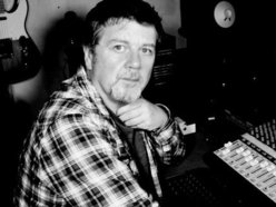 Eugene Brosnan at the mixing desk