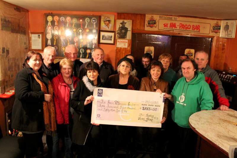 14Boeing Cheque Presentation at Malpaso Bar 2013