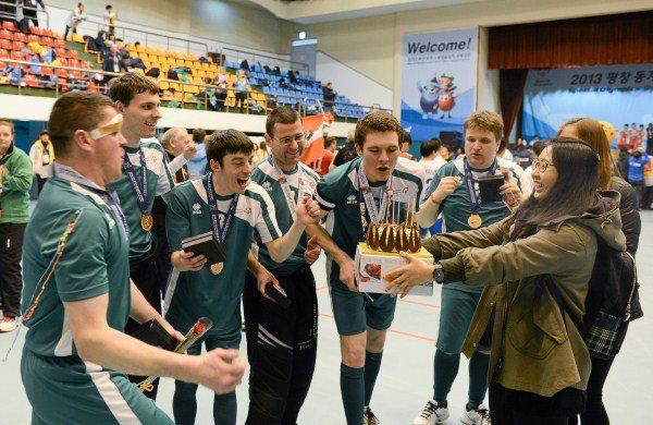 2013-01-31 The Irish Floorball Team at the Special Olympics in Korea - Brendan O'Sullivan 01