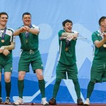 2013-01-31 The Irish Floorball Team at the Special Olympics in Korea - Brendan O