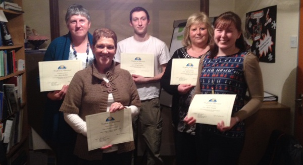 2013-01 Volunteers who completed Co. Cork VEC's Initial Tutor Training Course in the Millstreet Adult Learning Centre