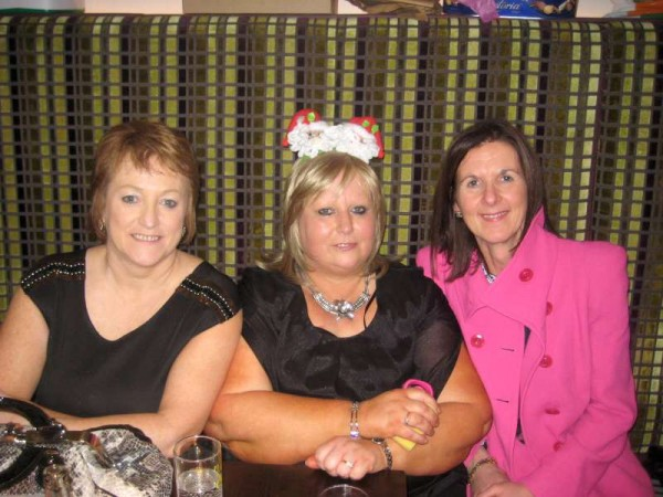 Enjoying the Annual Women's Christmas Party