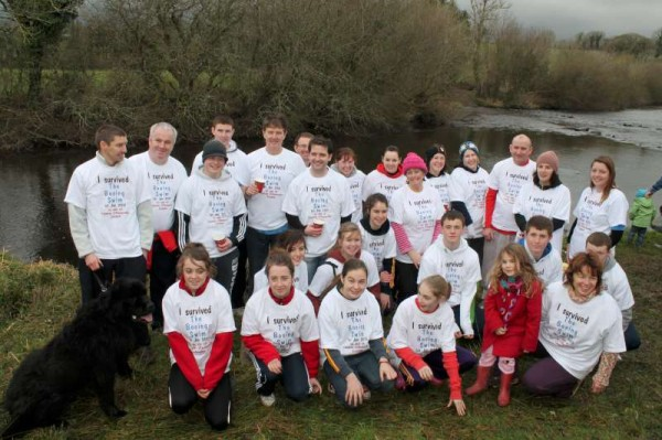 Following the Annual Sponsored Swim at the Boeing on Sunday, 6th Jan. 2013