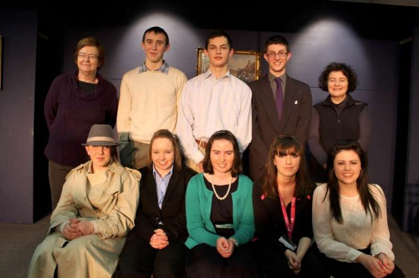 """With one more night to go tonight's presentation of Ray Cooney's """"Funny Money"""" by the very talented Students of Millstreet Community School"""