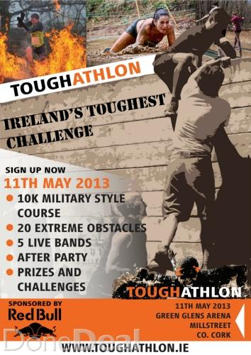 2013-02-06 Toughathlon in the Green Glens - poster