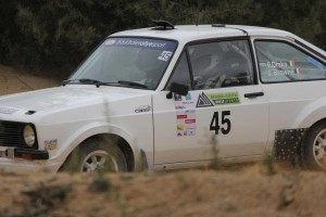 2013-03-02 Paul Drake driving in the Canberra Rally