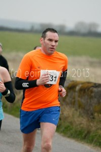 2013-03-13 Brian O'Connor running in the Ballycotton 10 mile